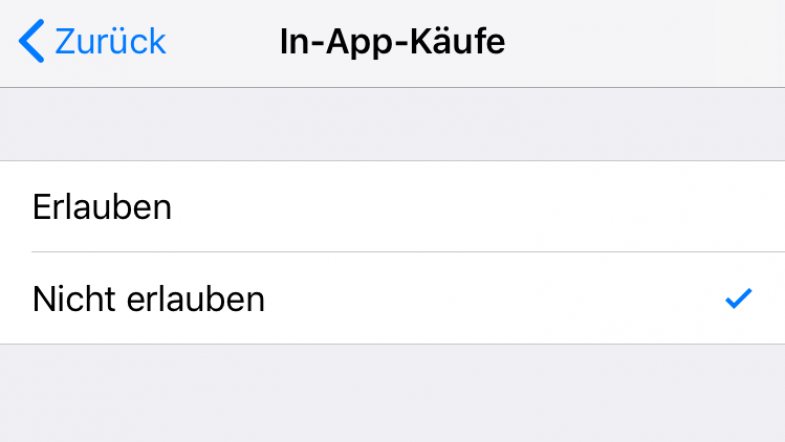 screenshot ios einstellungen
